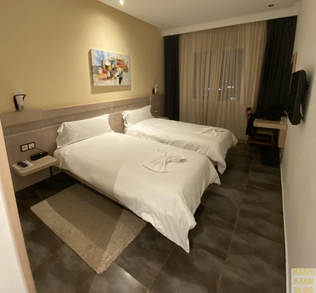 ホテルA44 宿泊室の様子