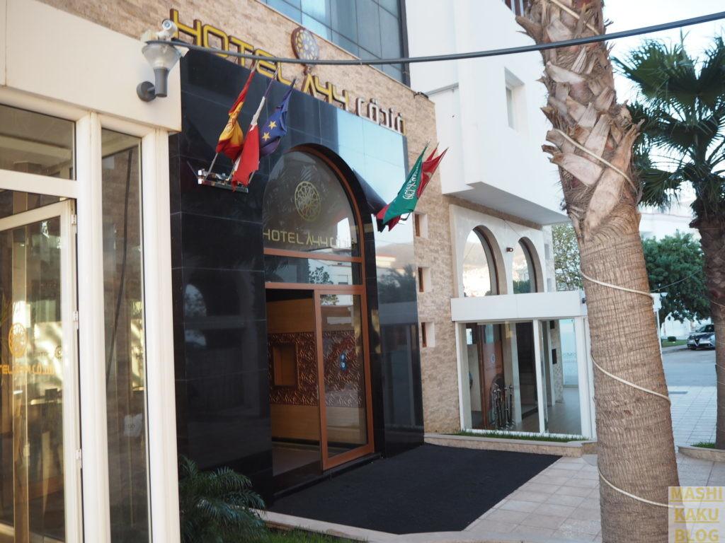 ホテルA44 正面入り口
