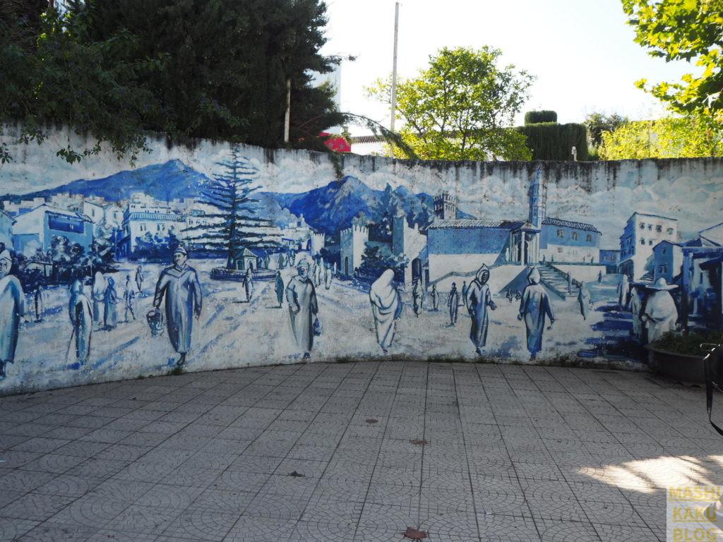 シャウエン 壁画